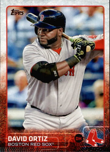 Photo of 2015 Topps #500 David Ortiz