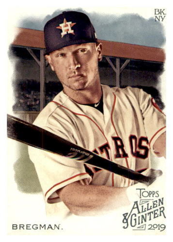 Photo of 2019 Topps Allen and Ginter #29 Alex Bregman