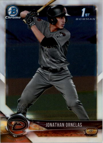 Photo of 2018 Bowman Chrome Draft #BDC29 Jonathan Ornelas