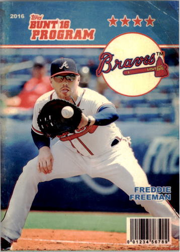 Photo of 2016 Topps Bunt Programs #P20 Freddie Freeman