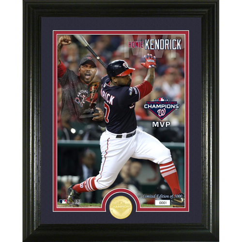 Photo of Serial #1! 2019 Washington Nationals NL Champions MVP Bronze Coin Photo Mint
