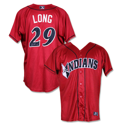 #29 Ryan Long Autographed Game Worn Jersey