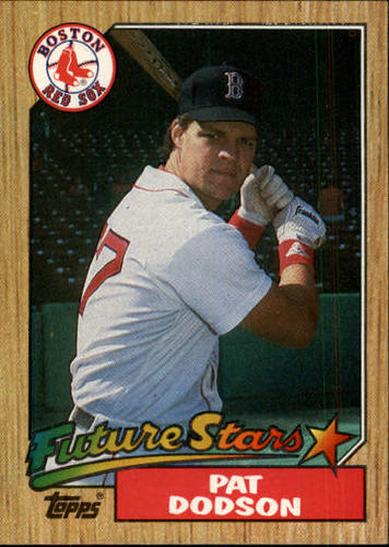 Photo of 1987 Topps #449 Pat Dodson