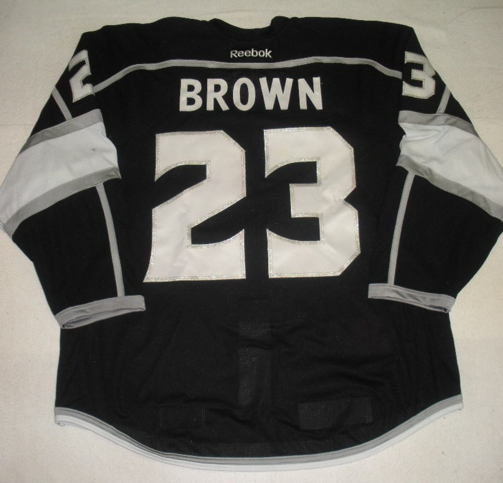 best service d34ea aa136 Dustin Brown - Los Angeles Kings -Stanley Cup Winning Banner ...