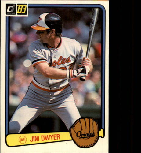 Photo of 1983 Donruss #583 Jim Dwyer