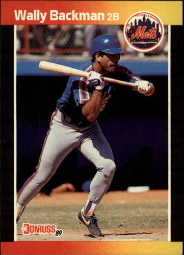 Photo of 1989 Donruss #383 Wally Backman