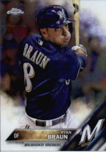Photo of 2016 Topps Chrome #165 Ryan Braun