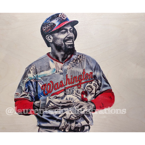NATS4GOOD Community Response Fund Auction: Custom Player Art Piece