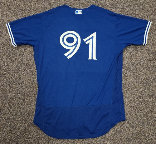 Photo of Authenticated Team Issued 2020 Spring Training Jersey: #91 Reggie Pruitt. Size 48