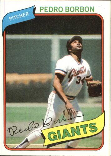 Photo of 1980 Topps #627 Pedro Borbon