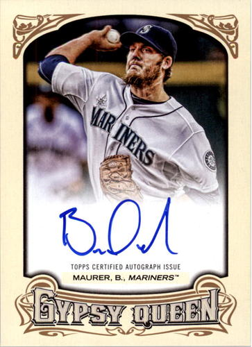 Photo of 2014 Topps Gypsy Queen Autographs #GQABM Brandon Maurer