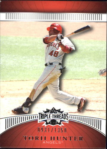 Photo of 2010 Topps Triple Threads #111 Torii Hunter