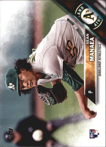 Photo of 2016 Topps Update #US13A Sean Manaea RC