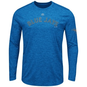 Toronto Blue Jays Complete Longsleeve Shirt by Majestic