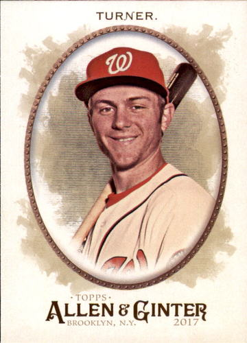 Photo of 2017 Topps Allen and Ginter #255 Trea Turner