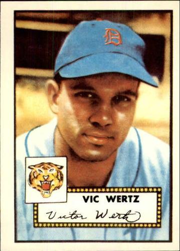 Photo of 1983 Topps 1952 Reprint #244 Vic Wertz