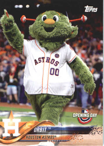 Photo of 2018 Topps Opening Day Mascots #M13 Orbit