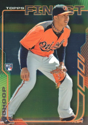 Photo of 2014 Finest #59 Jonathan Schoop Rookie Card