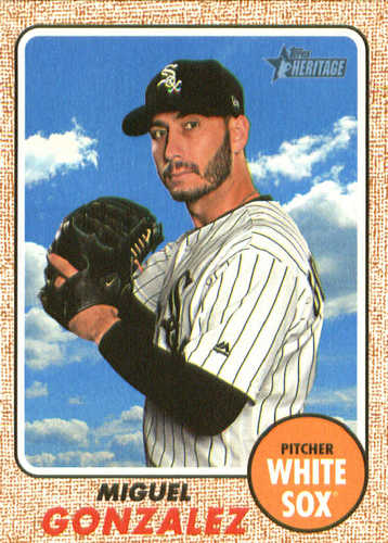 Photo of 2017 Topps Heritage #640A Miguel Gonzalez