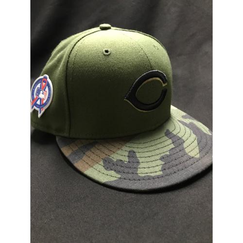 Photo of Brandon Dixon - Game-Used - Military Appreciation Hat (Worn: 2018)