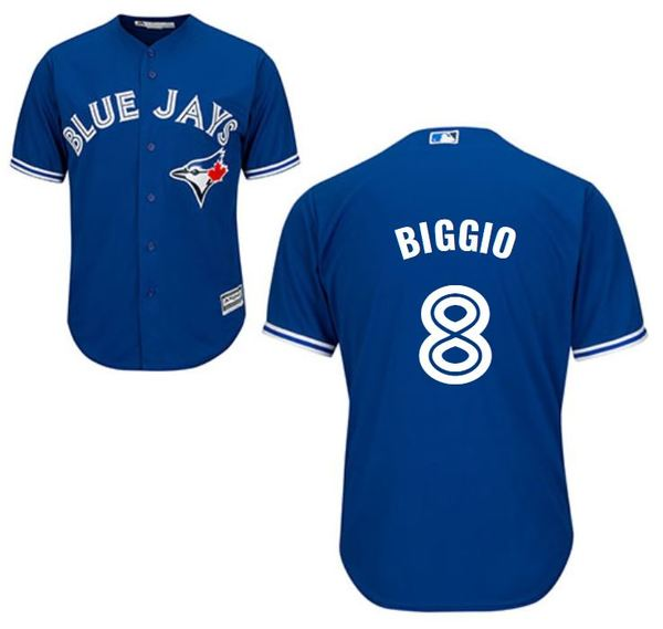 Toronto Blue Jays Cavan Biggio Replica Alternate Jersey by Majestic