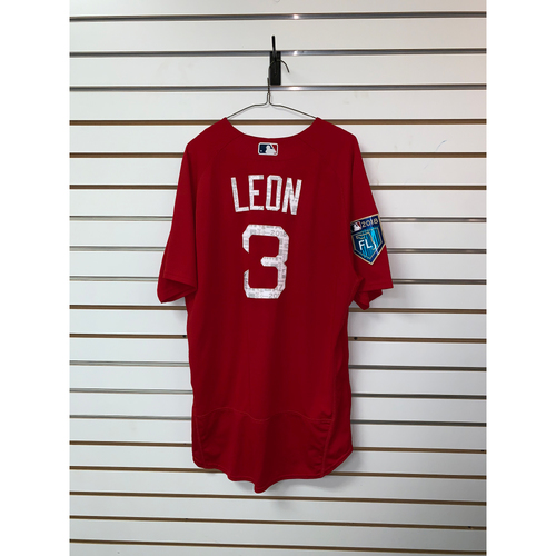 Photo of Sandy Leon Team Issued 2018 Spring Training Jersey