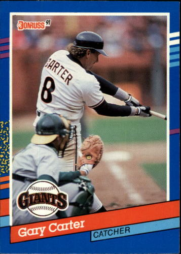 Photo of 1991 Donruss #151 Gary Carter