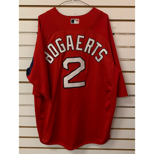 Photo of Xander Bogaerts Team Issued Home Batting practice Jersey