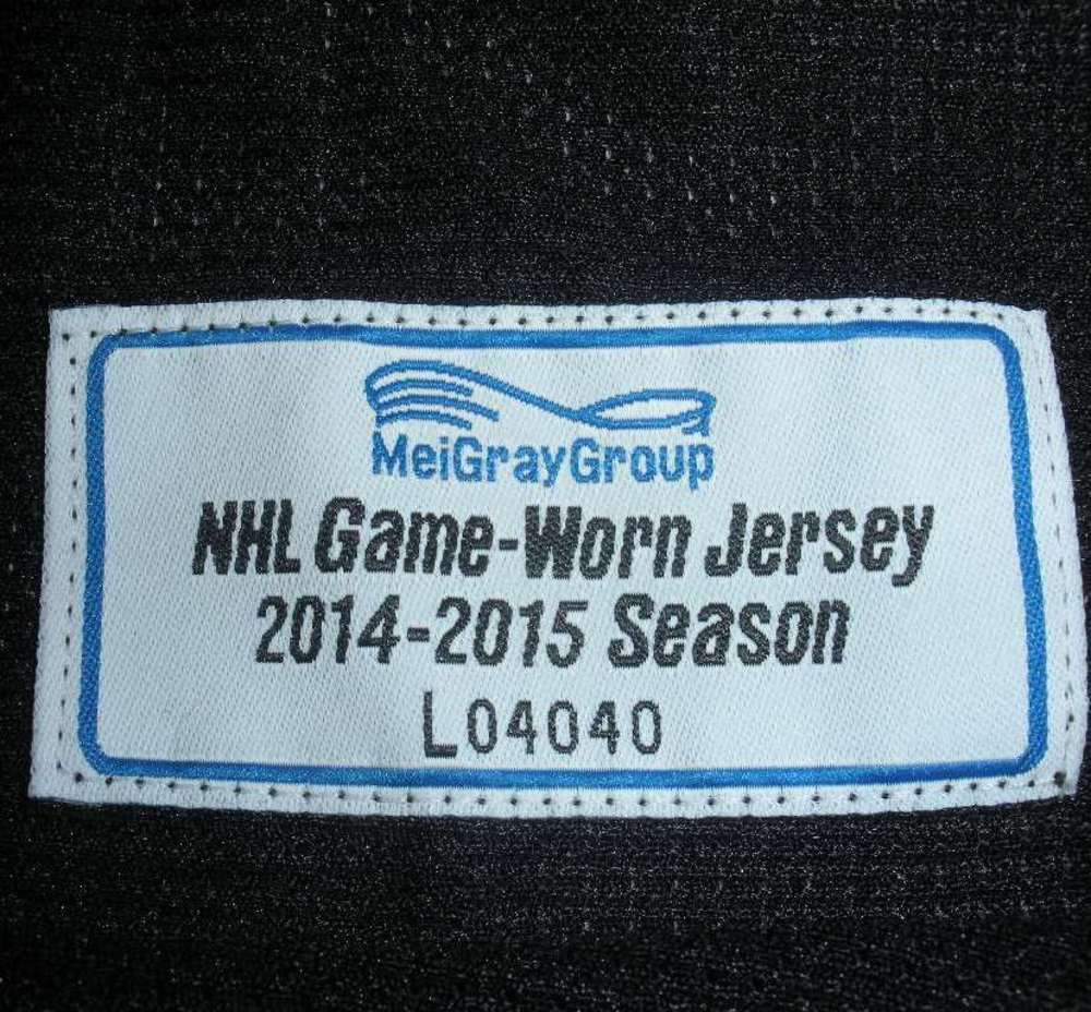 c3f273fae Dustin Brown - Los Angeles Kings -Stanley Cup Winning Banner Patch Game-Worn  Jersey w C