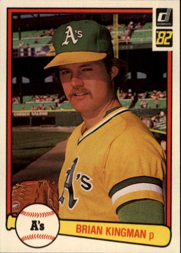 Photo of 1982 Donruss #87 Brian Kingman