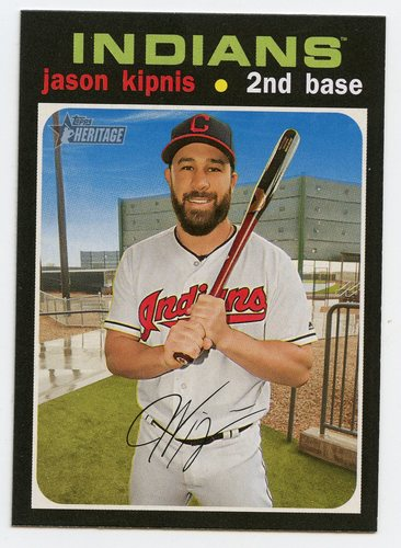Photo of 2020 Topps Heritage #325 Jason Kipnis