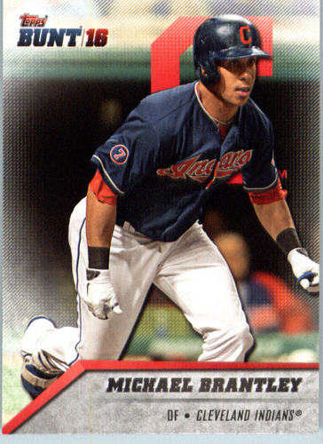 Photo of 2016 Topps Bunt #80 Michael Brantley