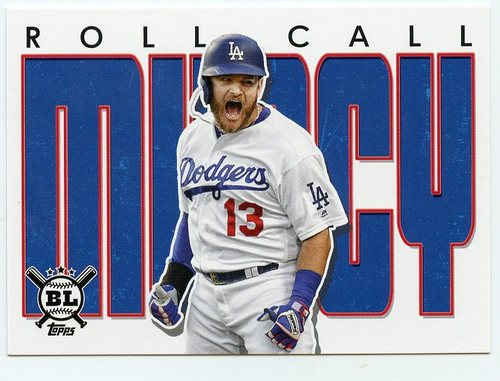 Photo of 2020 Topps Big League Roll Call #RC14 Max Muncy