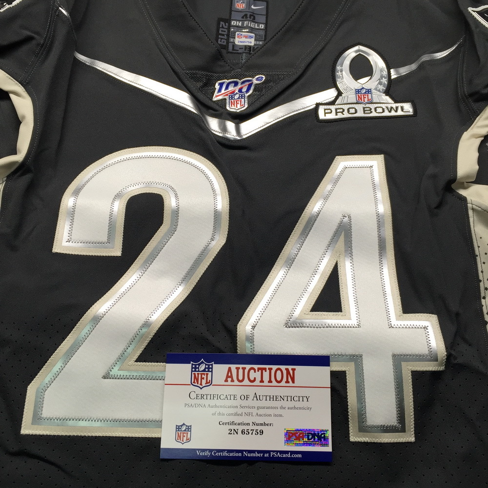 NFL Auction   NFL - Patriots Stephon Gilmore Game Issued Pro Bowl ...
