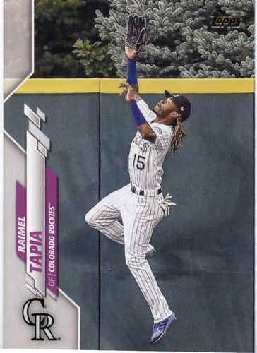 Photo of 2020 Topps #404 Raimel Tapia
