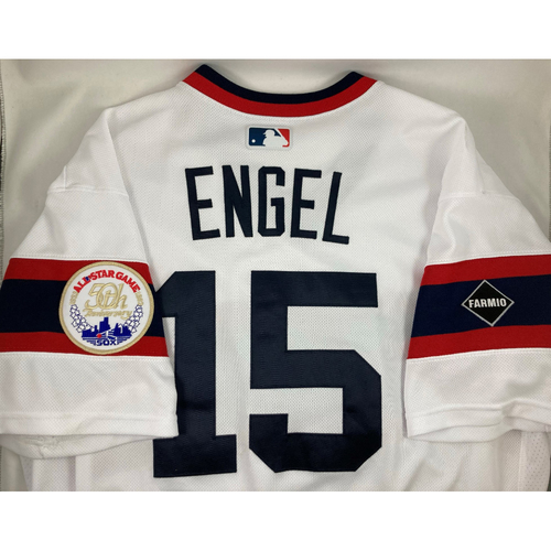 Photo of Adam Engel 2020 Team Issued Throwback Jersey