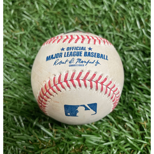 Photo of Game Used Baseball: Francisco Mejia strikeout & Kevin Kiermaier single off Hyun-Jin Ryu - Bottom 3 - April 25, 2021 v TOR
