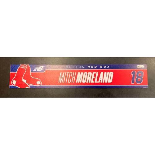 Photo of Mitch Moreland Team Issued Locker Tag
