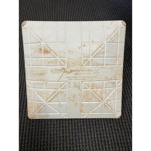 Photo of Game-Used Third Base: Wild Card Game St. Louis Cardinals at Los Angeles Dodgers - October 6, 2021 - Innings 5-7