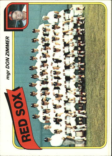 Photo of 1980 Topps #689 Boston Red Sox CL/Don Zimmer MG