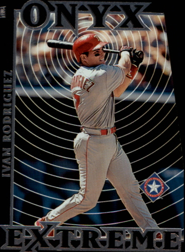 Photo of 2000 Stadium Club Onyx Extreme #OE8 Ivan Rodriguez