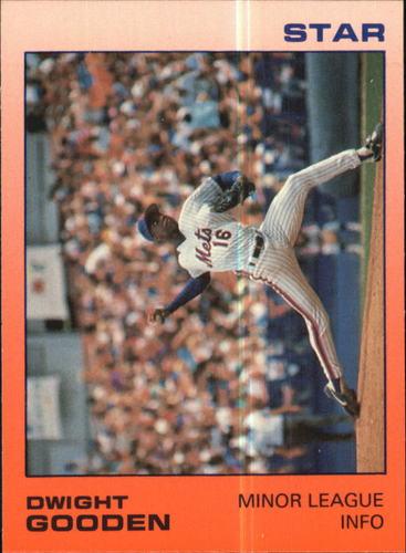 Photo of 1988 Star Gooden Glossy #6 Dwight Gooden/Minor League Info