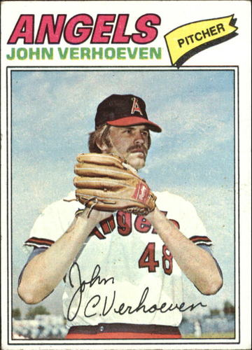 Photo of 1977 Topps #91 John Verhoeven RC