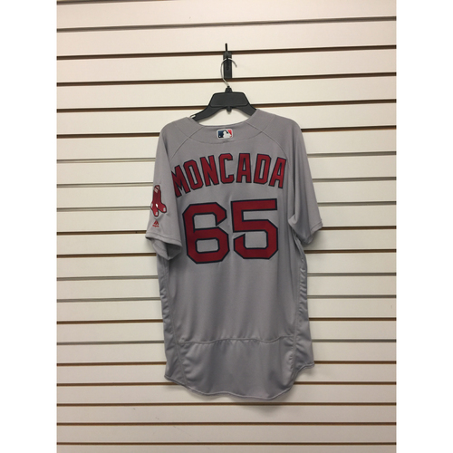 Yoan Moncada Team-Issued 2016 Road Jersey