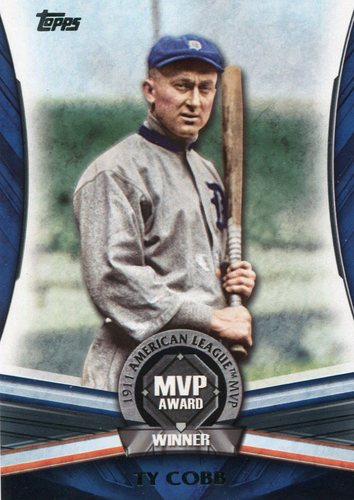 Photo of 2017 Topps Update MVP Award #MVP25 Ty Cobb