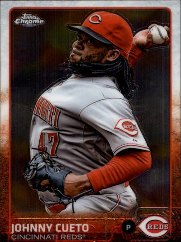 Photo of 2015 Topps Chrome #104 Johnny Cueto