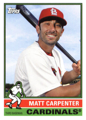 Photo of 2015 Topps Archives #108 Matt Carpenter