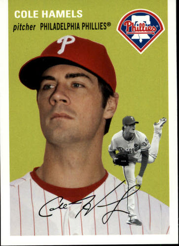 Photo of 2012 Topps Archives #7 Cole Hamels