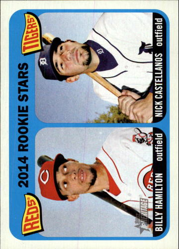 Photo of 2014 Topps Heritage #243 Nick Castellanos RC/Billy Hamilton RC