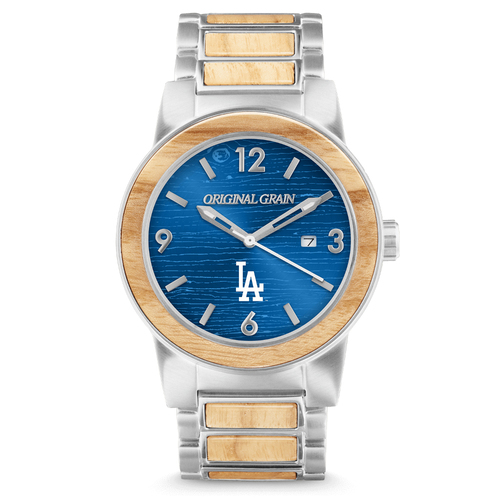 Photo of Los Angeles Dodgers - Reclaimed Baseball Bat Watch
